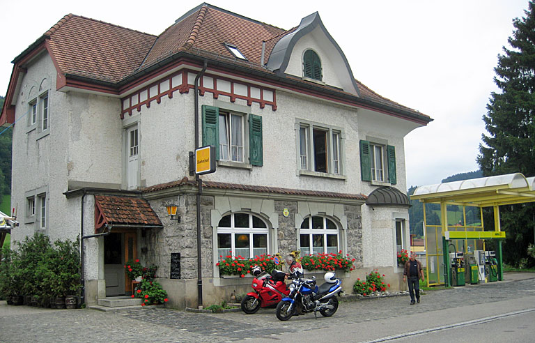 Restaurant Bahnhof in Brunnadern/SG