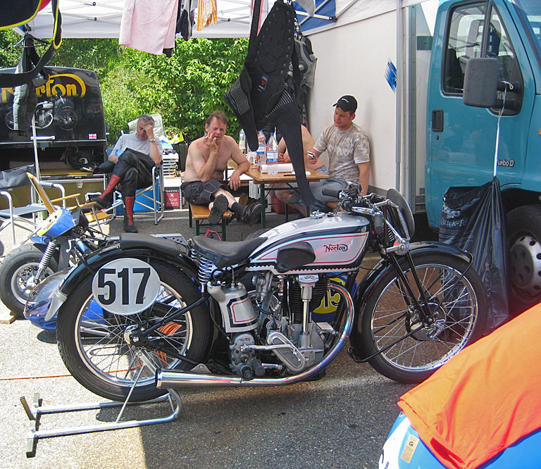 517: Martin Jakob, Norton International 500, 1934