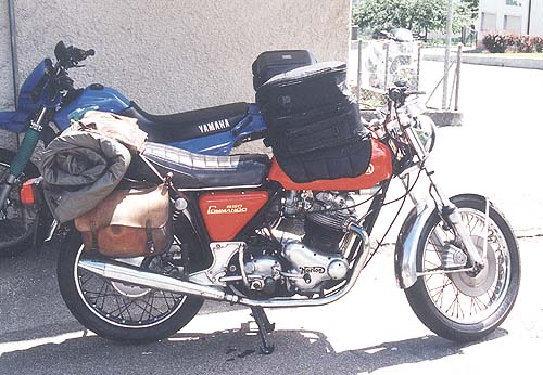 Commando als Tourer