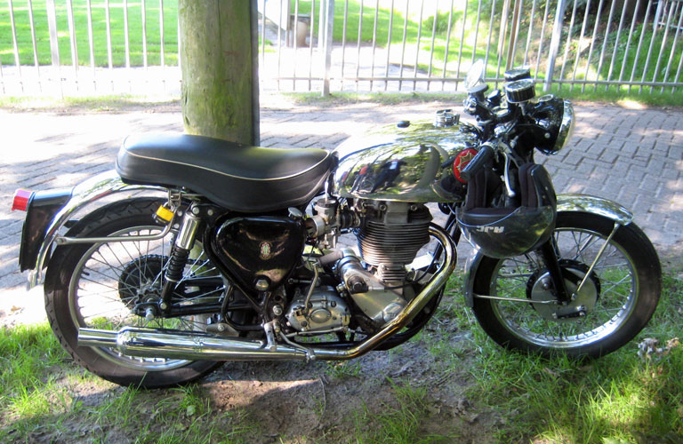 A visitors BSA Goldstar.