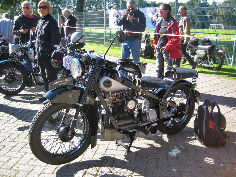 A Danish four-cylinder Nimbus from 1934.